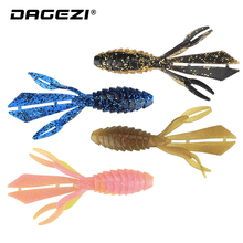 DAGEZI 4pcs/lot Comfortable Fishing Lure Pesca Synthetic Bait 12.5cm/14g Loopy Flapper Carp Comfortable Baits for Fly fishing Fishing Deal with