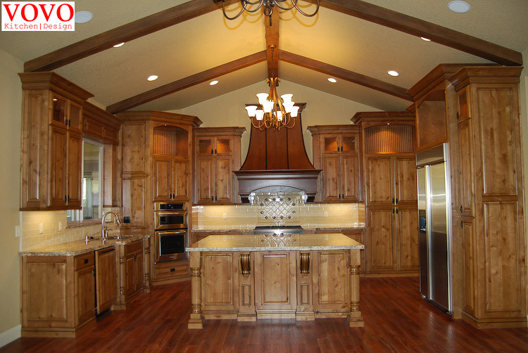 Royal solid wood kitchen cabinets-in Kitchen Cabinets from Home ...