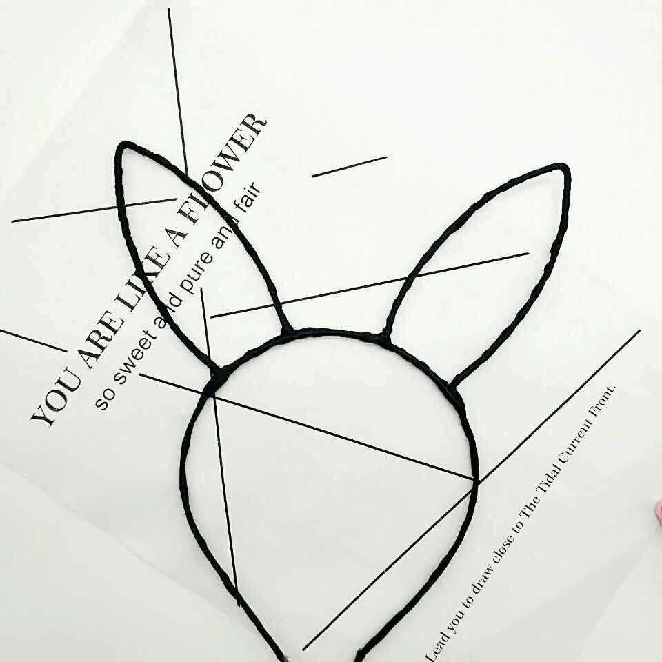 Detail Feedback Questions About Women Girls Rabbit Headwear Bunny