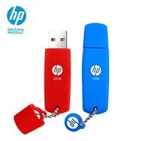 Оригинальный флешка флеш-накопитель 32 Гб 16 Гб hp V188W Новый Silicona Pendrive цветной красный/синий мини USB флеш-накопитель Бесплатная доставка USB ручк...