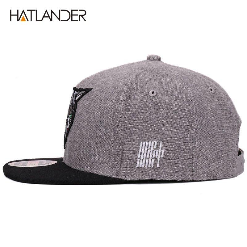 Hatlander 3D los ojos del diablo Gorras de béisbol Retro Gorras sombreros  Planas Chapeau de Hip Hop Gorras Snapbacks para hombres y mujeres unisex en  Gorras ... 3be7b66f7ab