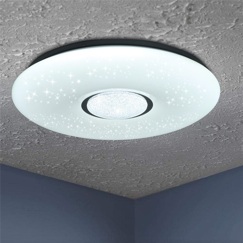 HTB1ncQBaE rK1Rjy0Fcq6zEvVXan 54W 2835SMD 36 LED Ceiling Lamp Led Light Bulbs Starlight Stars Sky 3-color Dimmable with Remote Control IP44 180V-240V