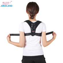 JORZILANO Adjustable Back Posture Corrector Brace Support Belt Clavicle Spine Shoulder Lumbar Correction