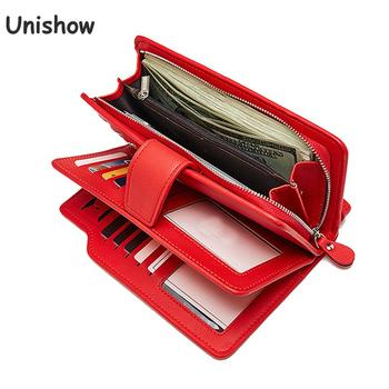 Wallet Female PU Leather Wallet Leisure Purse Red Style 3 Fold Top Quality Women Wallets Long Coin Purse Card Holders Carteras