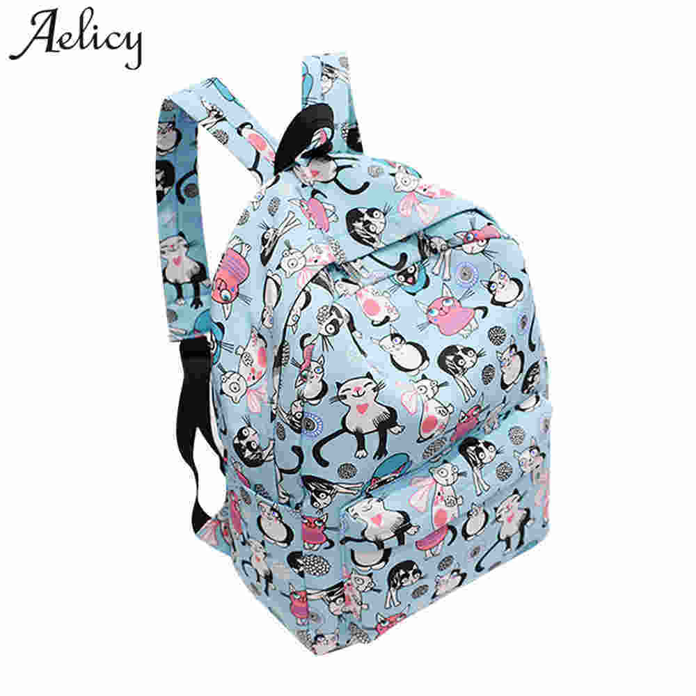 Aelicy Luxury Women Backpacks Nylon for Teenage Girls Preppy Style Backpack Schoolbag Book Bag Light Bag mochila feminina preppy style women backpack waterproof nylon backpack 10 colors lady women s backpacks female casual travel bag mochila feminina