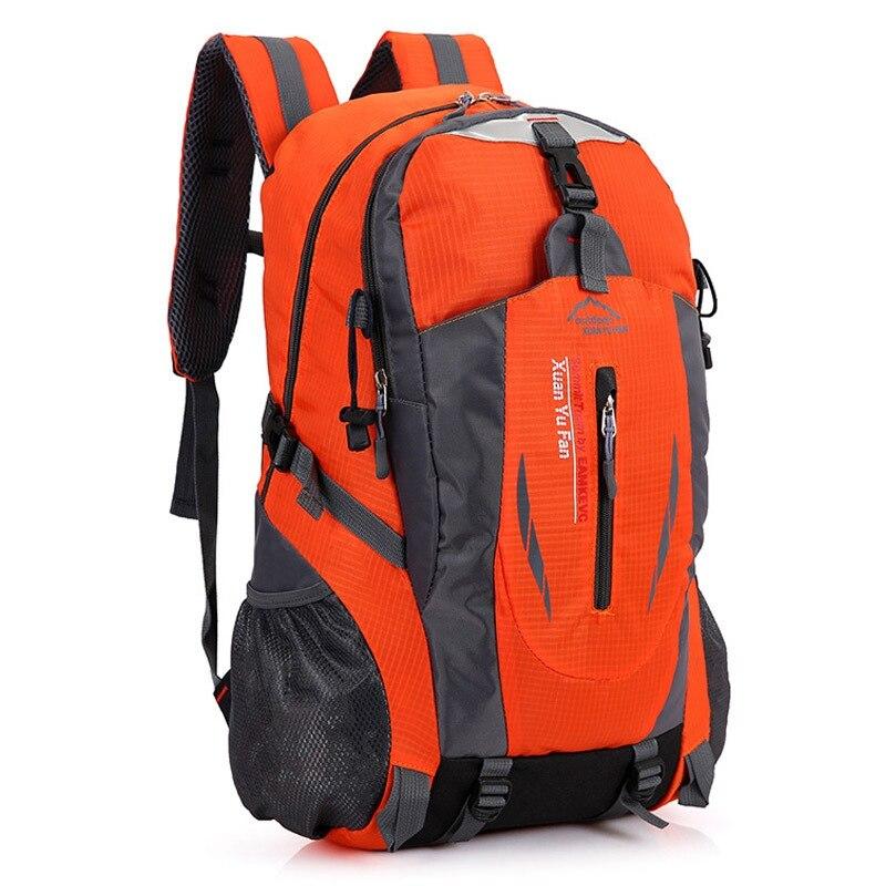 Waterproof Climbing Hiking Backpack Men Outdoor Sport Travel Backpacks Tactical Large Capacity Climbing Bag Rucksack 36-55L