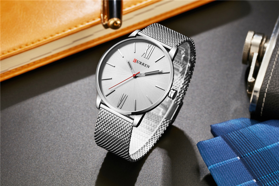 HTB1ncRkRpXXXXaIXXXXq6xXFXXXc - CURREN Luxury Stainless Steel Business Watch for Men