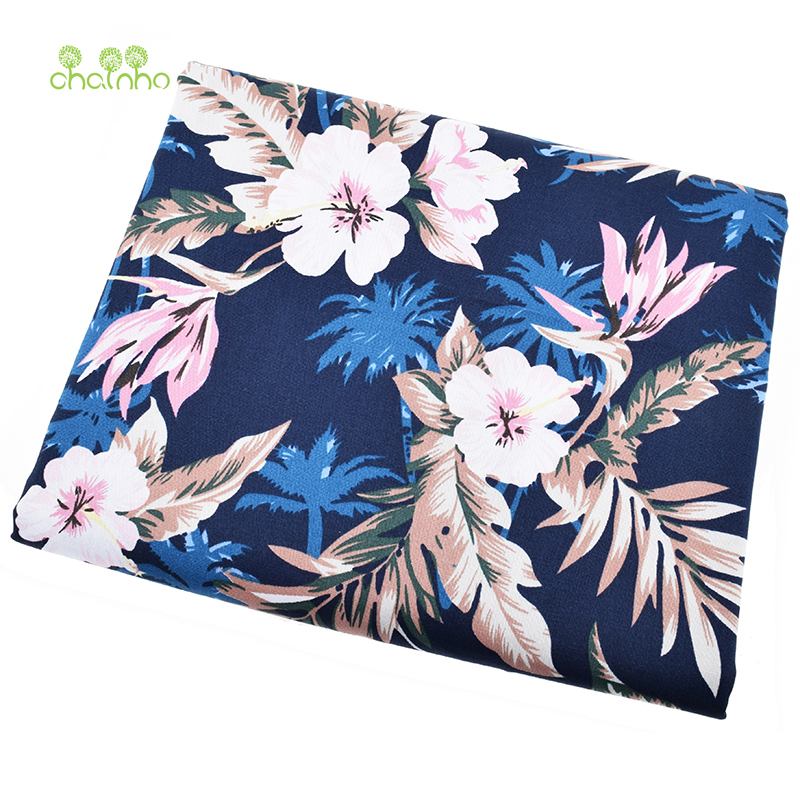 Printed stretch poplin plain cotton fabric for patchwork
