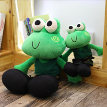 Cartoon Happy Frog Short Plush Toys Stuffed Animal Frogs Soft Plush Doll Toy Kids Gift Children Birthday Gifts стоимость