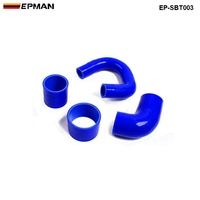 Silicone Intercooler Radiator Turbo Hose Kit For Subaru Impreza GC8 EJ20 2.0 STi 99-00(4pcs) EP-SBT003
