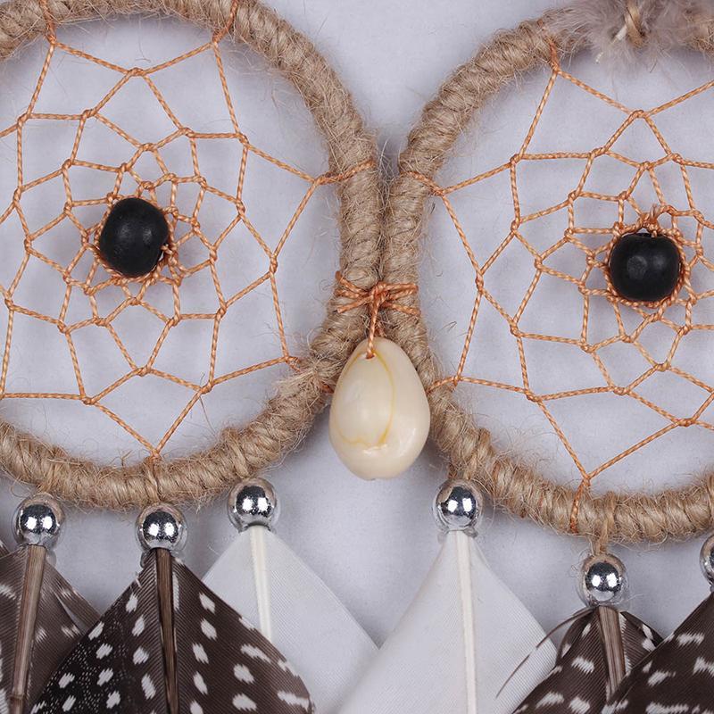 MS8069 OWL lələk naxışları Dream Catcher Divar asma Dekorasiya - Ev dekoru - Fotoqrafiya 3