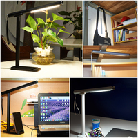 Dimmable Desk Lamp Adjustable Led Table Lamp Bed Table Reading Office Light Touch Swicth