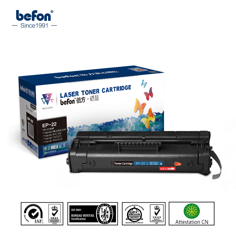 befon Refilled 22 Cartridge Replacement for hp EP-22 C4092A Toner - Office Electronics