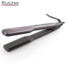 RUCHA Professional Advanced MCH Electric Hair Straightener Hair Styling Tools Flat Iron Ceramic Wide Plates for Salon