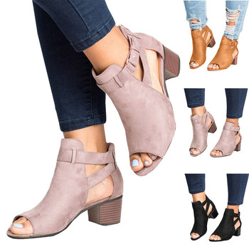Basic Fashion Spring Summer Ladies Sandals Fashion Fish Mouth Hollow Out Roma Shoes 2019 online shopping in pakistan with free home delivery