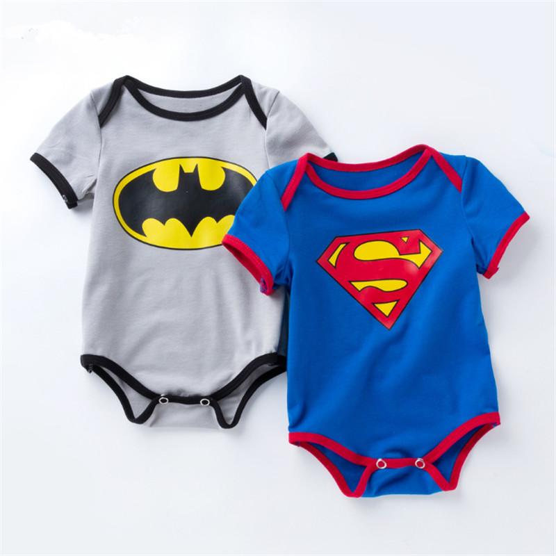 christmas,new 2018,spring newborn baby romper,cartoon,superman ,baby overall,Halloween Costume ...