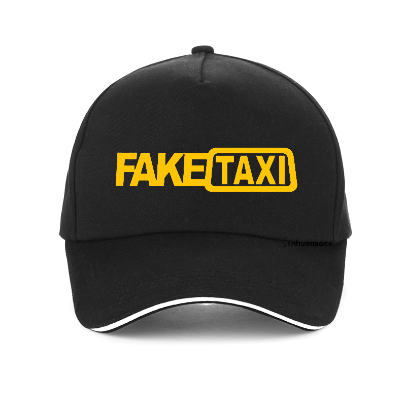 FAKE TAXI funny Letters <font><b>Baseball</b></font> <font><b>Caps</b></font> 100% Cotton <font><b>Women</b></font> Men Adjustable Hip Hop <font><b>Cap</b></font> Bone Unisex snapback <font><b>hat</b></font> gorras image