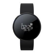 Bluetooth 4,0 Sport Smart Uhr UW1 Armband Pulsmesser Anruf SMS Erinnern IP67 Passometer für Android iPhone Smartwatch