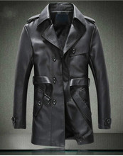 New Men And Velvet Fur Clothing In The Han Edition Cultivate One s Morality Leather Windbreaker