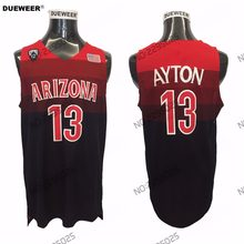 38a04551e DUEWEER 2018 NEW Arizona Wildcats 13 DeAndre Ayton College Basketball Jerseys  Mens Blue White DeAndre Ayton Stitched Shirts
