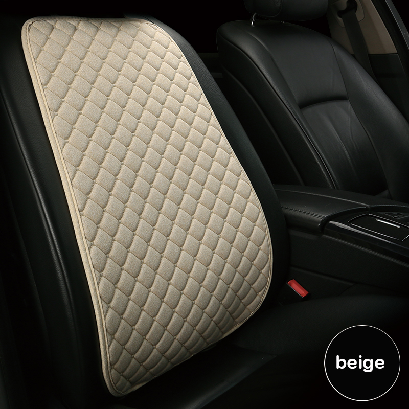 Linen Car Seat Cover Protector Linen Front Seat Back Cover 11