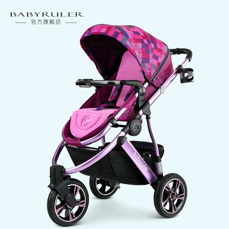 Babyruler baby stroller baby car baby stroller child cart shock absorbers buggiest baby stroller babyruler ultra light portable four wheel shock absorbers child summer folding umbrella cart babyfond stroller