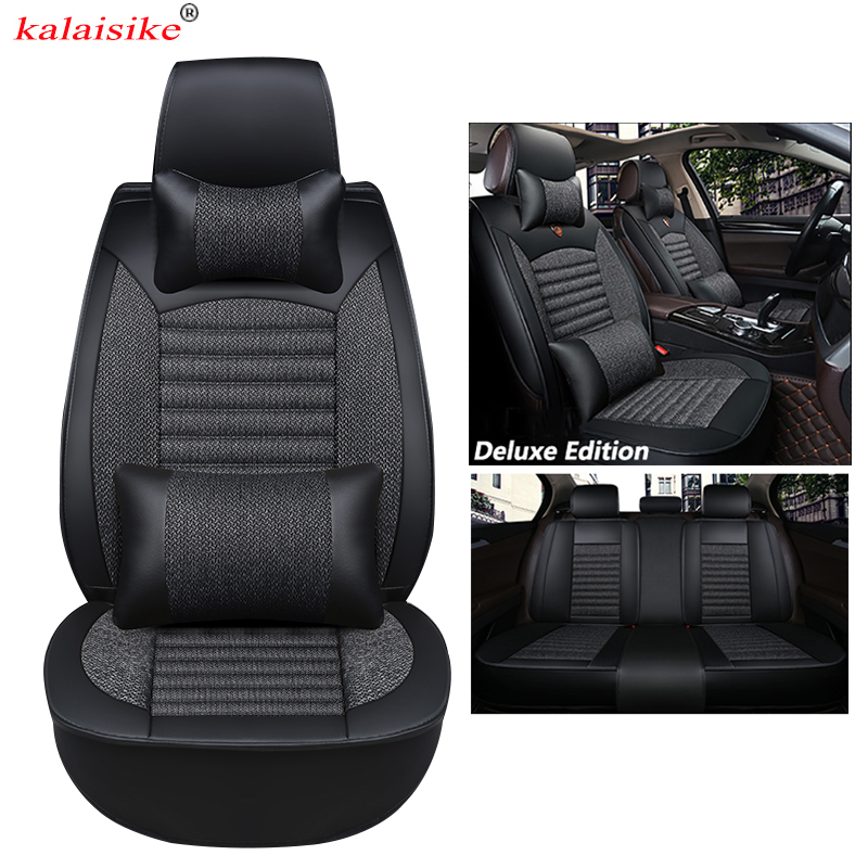 kalaisike Universal Car Seat Covers for Cadillac all models ATS CTS SRX CT6 ATSL XTS SLS car styling accessories auto Cushionkalaisike Universal Car Seat Covers for Cadillac all models ATS CTS SRX CT6 ATSL XTS SLS car styling accessories auto Cushion