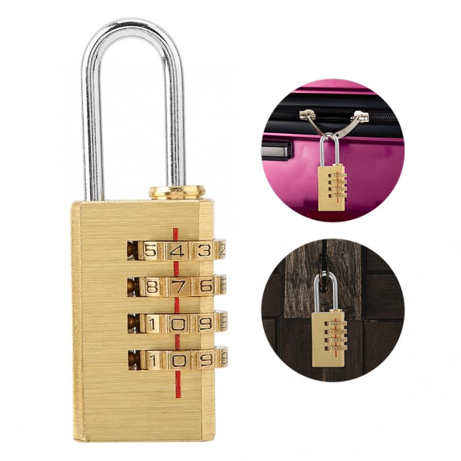 Anti-theft 4-Digit Resettable Combination Bicycle Chain Locks Password Security Steel Cable Wire Lock No Key Vbestlife Bike Cable Lock