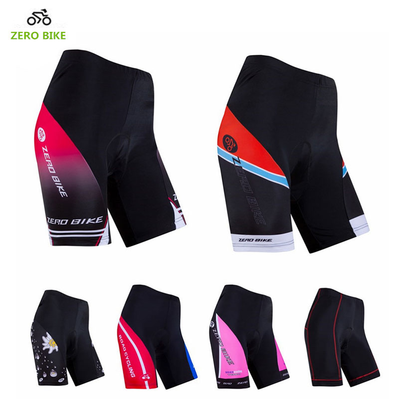 ZEROBIKE Summer Women's Cycling Shorts MTB Bike Quick Dry 3D Gel Padded Sports Tight Shorts Clothing bermuda ciclismo S-XL