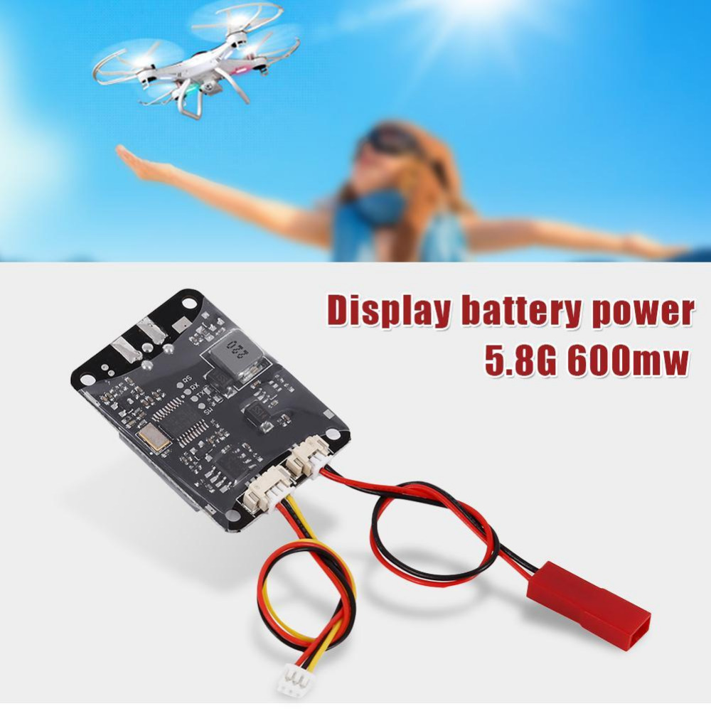 FPV 48CH 5.8G 600mw 5km Wireless AV Transmitter TS832 Receiver RC832 plus for FPV Multicopter RC Aircraft Quadcopter tx58 2w 40ch 5 8ghz wireless av transmitter rc58 40ch 5 8ghz wireless av receiver for fpv rc aircraft