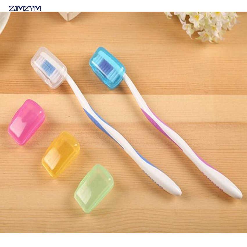 Taşınabilir diş fırçası başı Çantası Seyahat Yürüyüş Kamp Kutusu Tüp Diş Fırçaları Koruyucu Koruyucu Kapaklar Sağlık Germproof