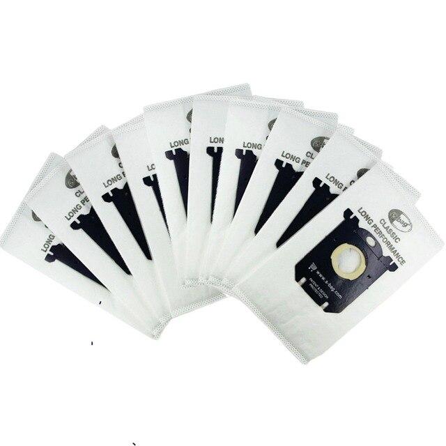 10 шт. Пылесосы для автомобиля Сумки пыли мешок для Electrolux Пылесосы для автомобиля фильтр и s-bag