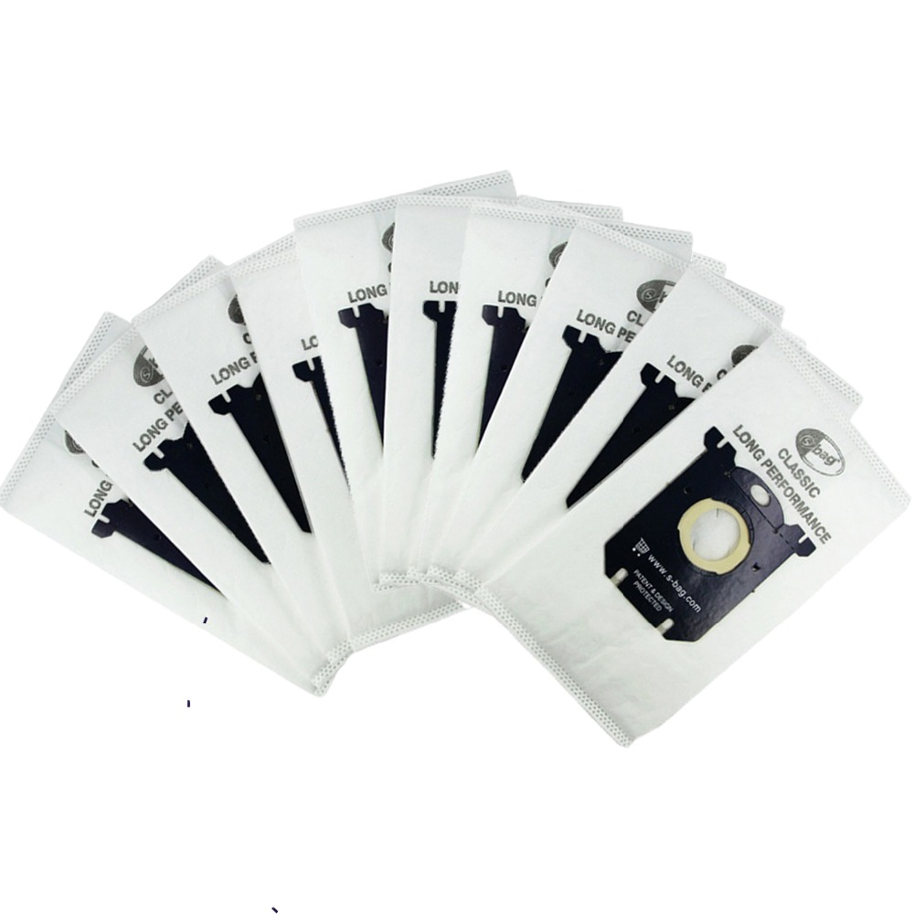 10PCS Vacuum Cleaner Bags Dust Bag For Philips Electrolux Vacuum Cleaner Filter S-BAG
