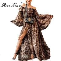 Платье с хищным принтом