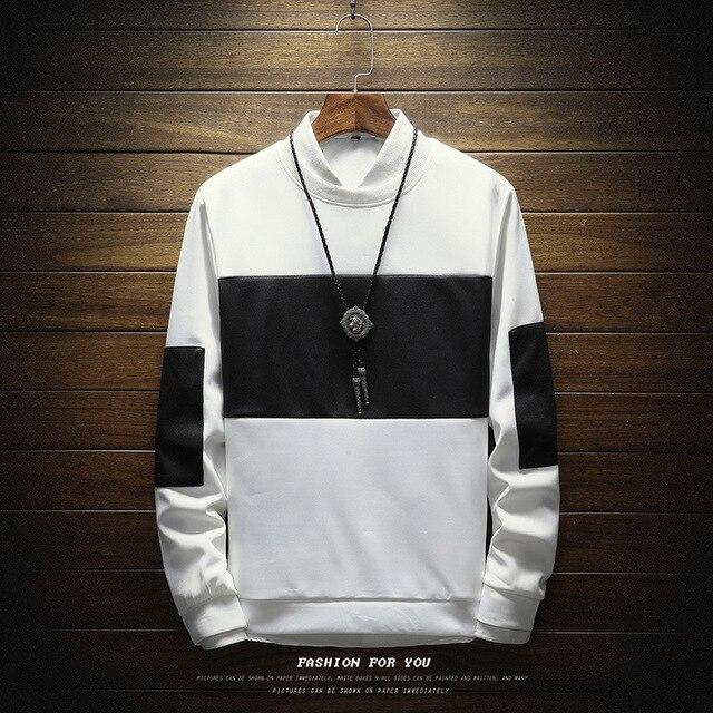 Men Sweatshirt Floral Printed Streetwear  2