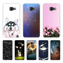 Cover For Samsung Galaxy A3 2016 Case Cute Cartoon Soft Silicone Case For Samsung Galaxy A5 2016 for Samsung A3 A5 2016 Case смартфон samsung galaxy a5 2016 4g 16gb white