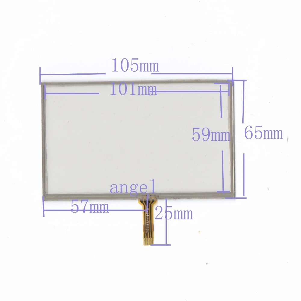 small resolution of original 43 inch 4 wire resistance touch screen 105 65 universal rhaliexpress 4 wire resistance