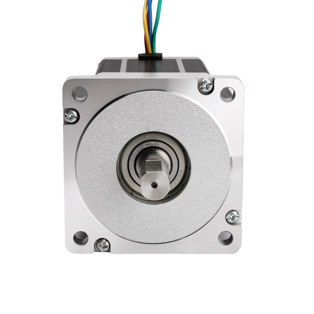 EU Free ship[3 8days ship] 1 PCS Nema 34 Stepper Motor 34HS9456 1062 oz.in 5.6A 98mm 4leads CNC Router XYZ AXIS-in Stepper Motor from Home Improvement    3