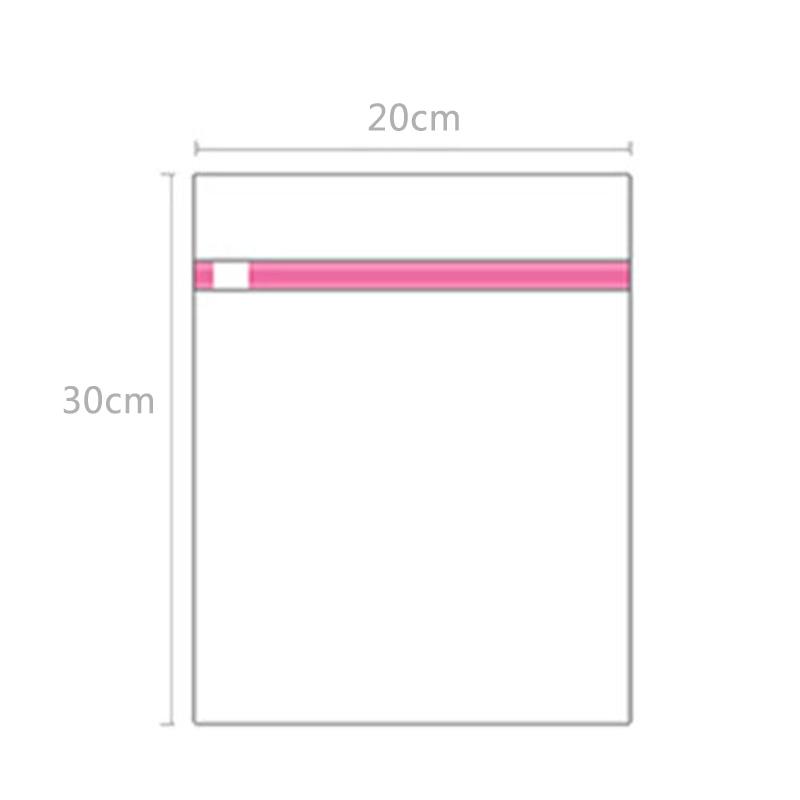 Моде! 9 размеров на молнии складной нейлоновый стиральный мешок бюстгальтер носки нижнее белье одежда стиральная машина защита сетки сумки - Цвет: 20x30 fine mesh