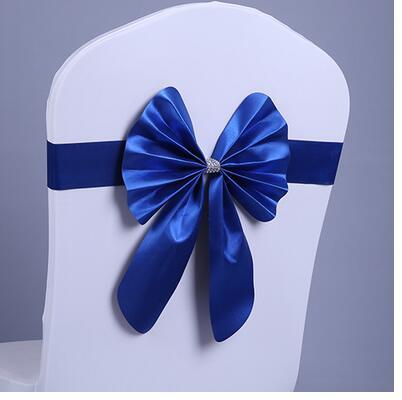 Noeud de Chaise Mariage Sashes узел бант на свадебный стул галстук украшение Stuhl Schleifen Hochzeit ssarfa Fajin Stoel Sjerp - Цвет: 007
