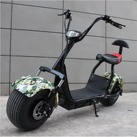 320617/New adult Harley electric car city electric scooter city scooter electric bike/Anti skid wear resistant tires