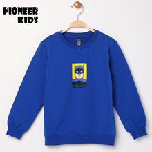 Pioneer KIds 2017 New Winter Autumn Children warm coat thick cotton hooded jacket kids boy batman style boys clothing hoodie