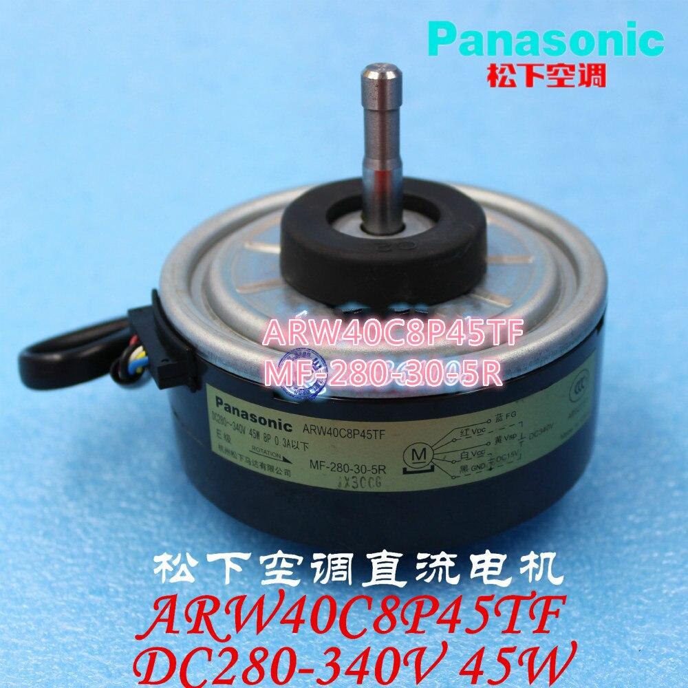 Marque new original Panasonic climatiseur pièces 45 W raccrocher intérieur DC moteur panasonic ARW40C8P45TF MF-280-30-5R
