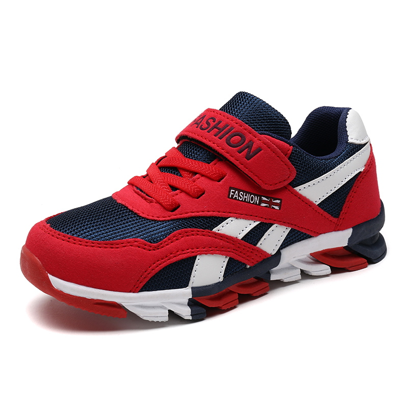 Brand Sneakers 2017 New Boys Outdoor Sports <font><b>Shoes</b></font> Trainers Kids Athletic Sneakers Children Breathable Jogging <font><b>Shoes</b></font> Size 28-38