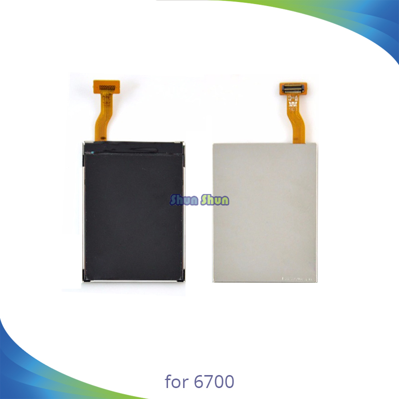 High Quality Mobile Phone LCD Display for Nokia 6700 Classic 6700c LCD Screen Assembly 100% Tested OK Replacement Parts