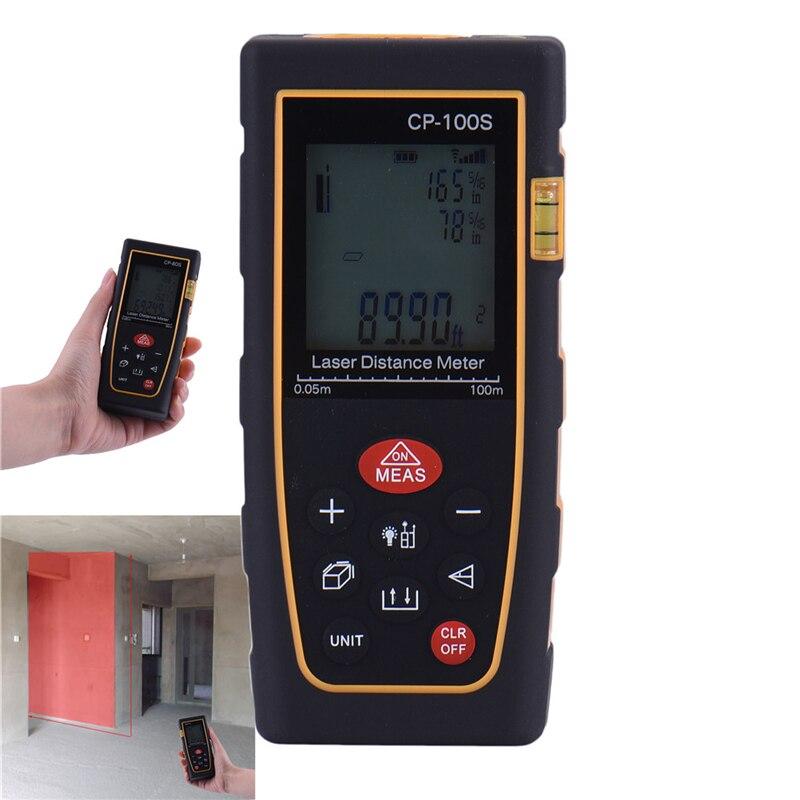 Handheld Digital Laser Distance Meter Range Finder Measure Diastimeter CP-100S Promotion
