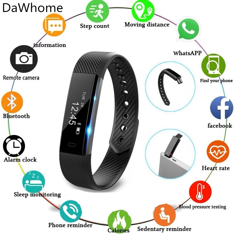 Women Men Smartwatch Fitness Record Sports Trackers Wristband Smart Bracelet Fitness Tracker Step Counter Activity Monitor Band Women Men Smartwatch Fitness Record Sports Trackers Wristband Smart Bracelet Fitness Tracker Step Counter Activity Monitor Band