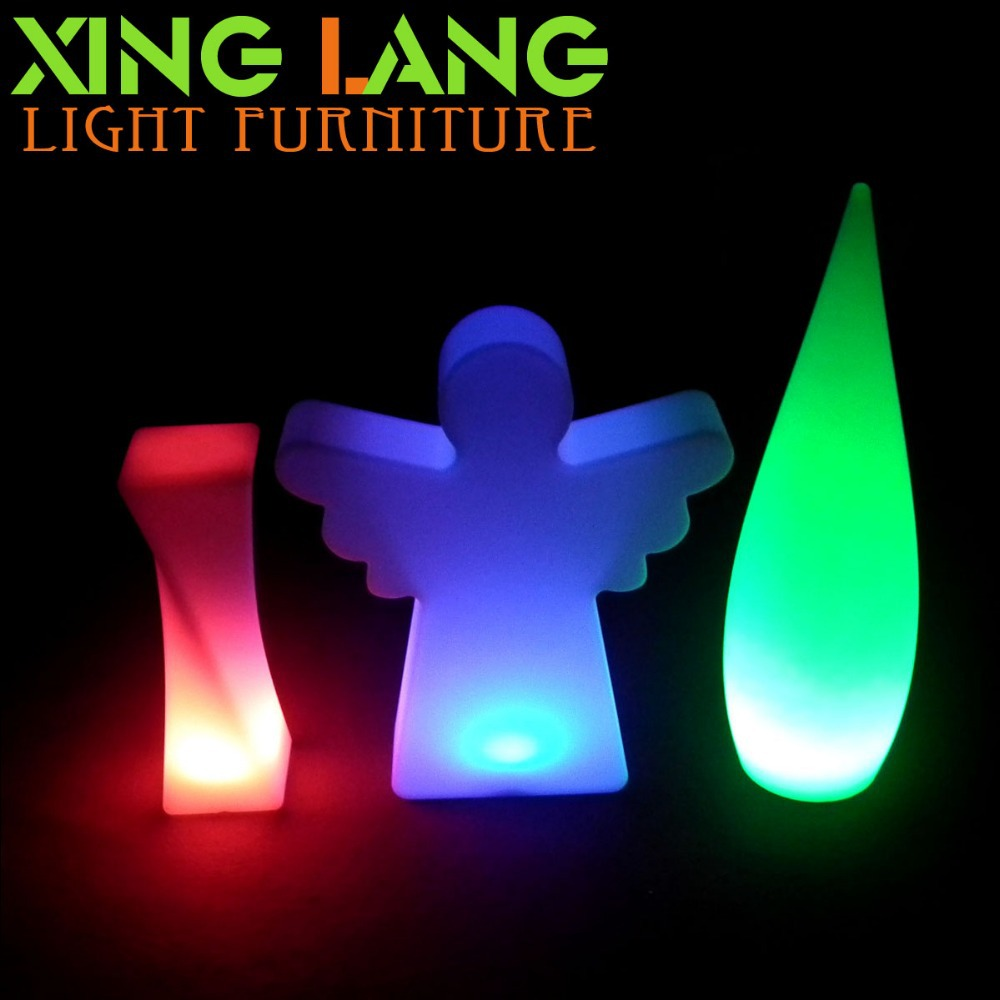 fashion led christmas lights rechargeable battery color changing cordless outdoor led lighting angel ornament in underground lamps from lights lighting on