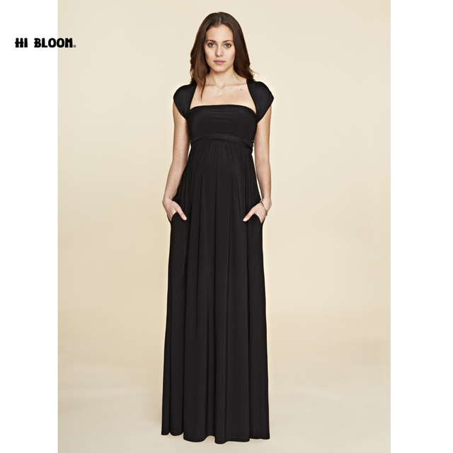 0934a28bead87 Maternity Clothes Sashes Maternity Dress Elegant Evening Party Dress For  Pregnancy Long Evening Gowns Office Lady Vestido