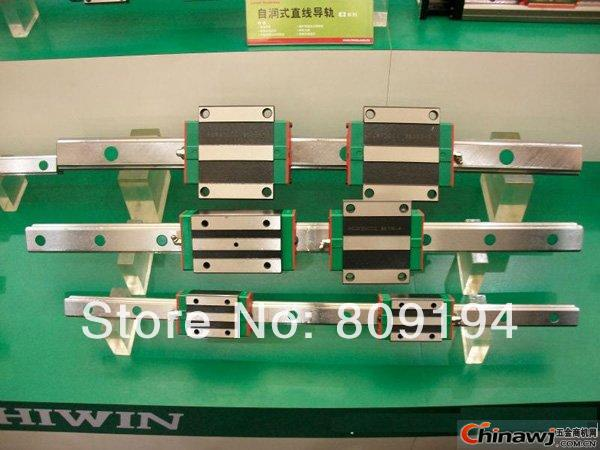 500mm HIWIN EGR20 linear guide rail from taiwan free shipping to argentina 2 pcs hgr25 3000mm and hgw25c 4pcs hiwin from taiwan linear guide rail